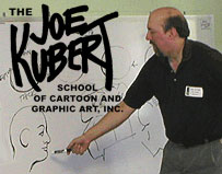 Alec Stevens teaches at the Joe Kubert School in Dover, NJ USA
