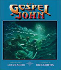 "New cover for ""The Gospel of John"" by Rick Griffin"